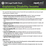 Explaining Disability Income