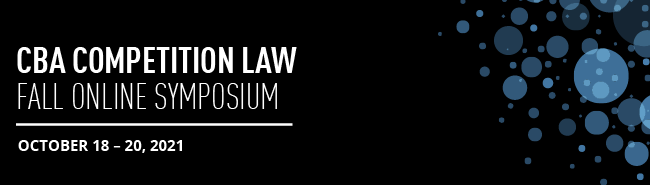 CBA Competition Law Online Symposium