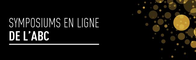 SYMPOSIUMS EN LIGNE 2021
